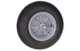 Wiel 400x8 4PLY PVC kogellager 20 cm is een reserve wiel dat is voorzien van een degelijke kogellager voor een hoog rijcomfort.