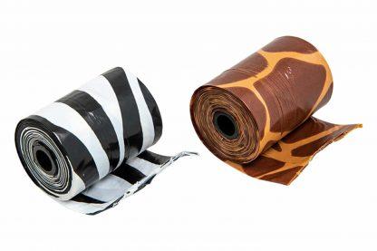 Mr. Poop Safari Nano poepzakjes met houder zijn makkelijk en stevig in gebruik. Speciaal gemaakt voor de kleine hondenrassen! De houder en poepzakjes zijn namelijk kleiner dan de standaard varianten.