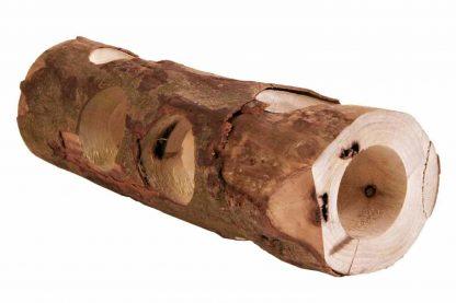 De Trixie buistunnel van schorshout is de perfecte speel- en schuilplaats voor kleine knagers zoals muizen en hamsters. Uitsluitend gemaakt van hoogwaardige naaldhoutsoorten en daardoor 100% veilig.
