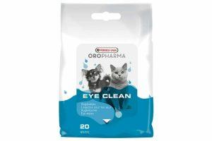 De Oropharma Eye Clean zijn reinigende en verzachtende oogdoekjes voor hond en kat. Met de doekjes kan je eenvoudig traanstrepen en afscheidingen verwijderen uit de ooghoeken. Het product is geschikt voor dagelijks gebruik.