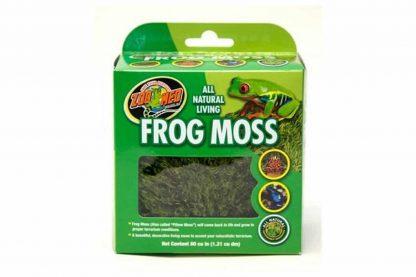 Het ZooMed All natural living frog mos komt onder de juiste terrarium condities weer tot leven en geeft daarmee een natuurlijke en mooie decoratieve uitstraling.