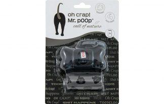 Mr. Poop Oh Crap poepzakjes met houder zijn makkelijk en stevig in gebruik. Je gaat duurzaam op pad met jouw trouwe viervoeter, doordat de poepzakjes recyclebaar zijn. De houder is eenvoudig aan je hondenriem te bevestigen, waardoor je nooit meer misgrijpt! Daarnaast zijn ze voorzien van een vrolijke design.