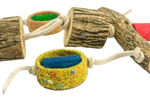 Birrdeeez Vogelspeelgoed T-vorm Sekelbos