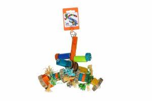 Birrdeez Vogelspeelgoed met touw