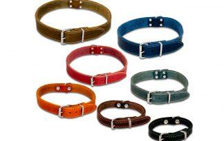 De Jack & Vanilla halsband is een soepele lederen halsband voor een stoere look. Gemaakt van echt natuurleder en stijlvol afgewerkt met zadelstiksel. Geschikt voor alle rassen, van de kleinste tot de grootse hond!