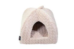 De Jack & Vanilla Softy Iglo is het perfecte comfortabele plekje voor jouw kat of kleinere hond! Katten vinden het fijn om ergens in te gaan zitten, zodat ze beschut zitten. De Iglo is daarvoor een ideaal plekje.