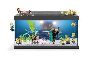 Het Tetra Starter Line LED aquarium Minions is zeer geschikt voor iedereen die wil beginnen met deze fantastische hobby! De set bevat namelijk alles wat je nodig hebt om een goede start te maken met jouw nieuwe aquarium. Daarnaast is deze speciale editie uitgevoerd met Minions figuren!