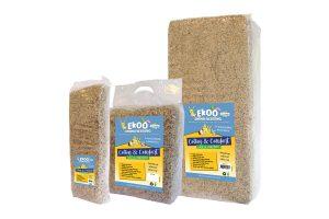 De Ekoo Cotton & Comfort bodembedekker heeft een zeer hoge absorptie, waardoor het hok lang schoon en droog blijft. Daarnaast is het katoen stofarm en daardoor ook geschikt voor dieren met allergieën. Speciaal geschikt voor dieren met voetzoolproblemen, oog- en huidirritatie.