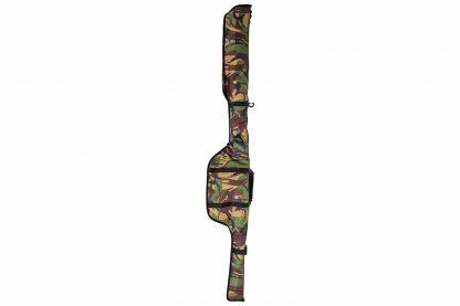 De Lion Sports Treasure DPM Single Rod Sleeve is een foedraal met hippe camouflage print. Deze foedraal brengt ultieme bescherming aan je hengel. De foedraal is tevens gemaakt van een hoogwaardig nylon.