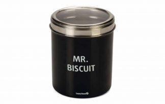 De Beeztees RVS Biscuit voorraadpot zorgt ervoor dat koekjes en beloningen voor jouw huisdier langer vers blijven. De koekjespot heeft door het RVS een stoere uitstraling en is voorzien van een grappige tekst.