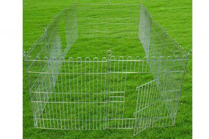 De Boony knaagdierren 6-delig verzinkt is geschikt voor zowel binnen als buiten, waardoor je jouw konijn of knaagdier meer bewegingsvrijheid kan geven! Wanneer je de ren op een harde ondergrond plaatst zoals stenen slijten de nageltjes goed! Als je de ren op het gras plaatst kan je deze extra stevig neerzetten, doordat de pinnen in de grond kunnen.
