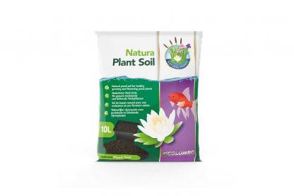 De Colombo Natura Plant Soil bestaat uit natuurlijke grondstoffen, zoals onder andere klei en turf. De voedingsstoffen zorgen ervoor dat vijverplanten niet alleen groeien, maar ook goed wortelen en bloeien.