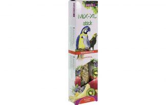 De Esve MiX-XL Kromsnavel Tropisch fruit stickis een heerlijke traktatie! Gemaakt van onder andere graankorrels, zaden, honing en gedroogd fruit. De samenstelling is speciaal afgestemd op de behoefte van kromsnavels.