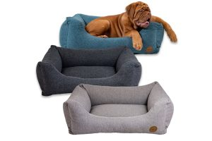 De Jack & Vanilla Hampton hondensofa is gemaakt van duurzaam meubelstof en heeft daardoor een stijlvolle uitstraling. De hondenmand behoudt goed zijn vorm, mede doordat deze is gevuld met traagschuim.