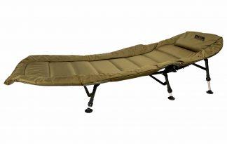 De Lion Sports Treasure Bedchair is een comfortabele stretcher ideaal voor de beginnende karpervisser die graag een kwalitatief hoogwaardige stretcher heeft, zonder daar teveel voor te betalen.