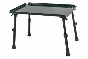 De Treasure Bivvy Table adjustable is zeer geschikt voor het vissen op bijvoorbeeld karper/wit. Deze tafel heeft opstaande randen waardoor materiaal er niet snel af zal vallen.