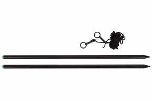 De Treasure Distance Sticks zijn zeer geschikt voor het op de kant uitmeten van je lijn afstand. Hierdoor kun je de lijn klippen op de molen en zodoende elke worp perfect maken.