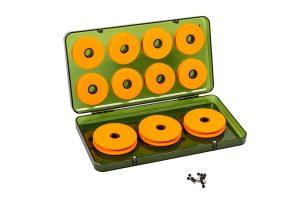 De Treasure Magnetic EVA Case is uitermate geschikt voor het opbergen van al je rigs. De meegeleverde EVA spoeltjes zijn zeer handig in gebruik en bieden plaats aan talloze soorten onderlijnen.