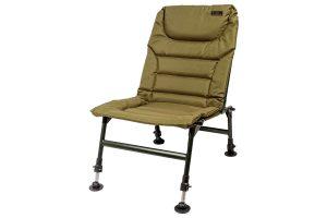 De Lion Sports Treasure Young Chair is een comfortabele stoel die voorzien is van een gevoerde zitting en rugzijde. Daarnaast zijn alle 4 de modderpoten individueel en traploos verstelbaar, waardoor je deze stoel op elk terrein stevig neer kunt zetten.