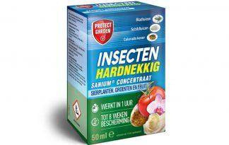 De Protect Garden Sanium concentraat heeft een systemische werking en is daardoor effectief tegen schadelijke insecten. Bestrijd onder andere bladluizen, coloradokever en witte vlieg. Geschikt voor sierplanten en planten in de moestuin.