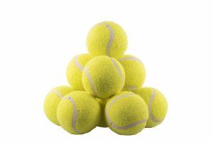 De Rosewood Jolly Doggy tennisbal is een voordeelverpakking van maar liefst 12 speelballen. Voorzien van een handige zak met trekkoord, zodat je ze niet kwijt raakt! Tennisballen zijn perfect voor apporteerspelletjes of bijvoorbeeld voor in ballenwerpers.