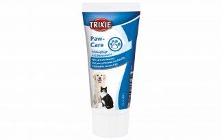 De Trixie pootverzorgingscrème is geschikt voor honden en katten. De verzorgingscrème beschermt de poten en kussentjes en is zeer geschikt voor wandelingen in de winter. Wanneer het koud is, er sneeuw ligt of er gestrooid is kunnen honden en katten veel last ervaren aan de pootjes.