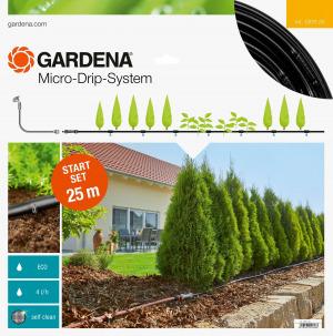 Gardena Startset M voor rijplanten 25 meter