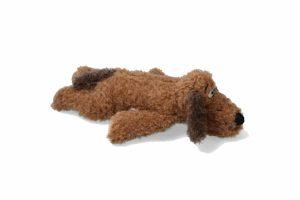 De AFP Paws-Dog anti-angst hondenknuffel is voorzien van een 'hartslag', waardoor puppy's en honden met verlatingsangst eerder ontspannen als ze alleen zijn. Door het horen van de hartslag worden honden rustiger en voelen zij zich minder eenzaam.