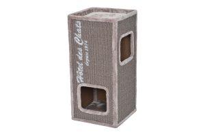 De Ebi Trend Rockefeller 77 is gemaakt van sterk sisal en heeft een hoge kwaliteit pluche, waardoor het voor katten het perfecte krabmeubel is. Sisal is een robuuste vezel en doordat katten er graag aan krabben zorgt dit ervoor dat nagels in goede conditie blijven.