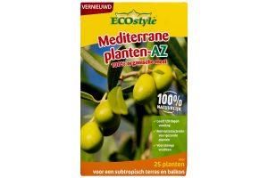 ECOstyle Mediterrane planten AZ is speciaal voor subtropische planten, zodat zij de juiste voeding krijgen. De meststof is metverrijkt met een unieke mix van bacteriën, schimmels en protozoa.