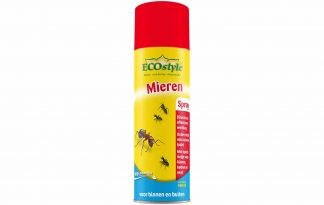 De ECOstyle Mierenspray is voorzien van een handige spuitmond, waardoor je rechtstreeks in het nest kan spuiten. Zo pak je het probleem direct bij de bron aan en ben je snel af van de overlast. Daarnaast is de mierenspray verpakt in een milieuveilige spuitbus zonder drijfgas.