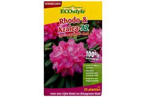ECOstyle Rhodo & Azalea AZ is speciaal afgestemd op de behoefte van zuurminnende planten. De meststof bevat RhizaMax®-wortelactivator welke speciaal is voor Rhododendrons, maar ook voor Ilex, Heide of Skimmia.