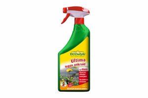 ECOstyle Ultima onkruid en mos geeft binnen drie uur resultaat. Daarnaast bestrijd het blad en de wortel, waardoor het bij de bron wordt aangepakt. Het voordeel van ECOstyle is dat het biologisch afbreekbaar is en daardoor ecologisch verantwoord!