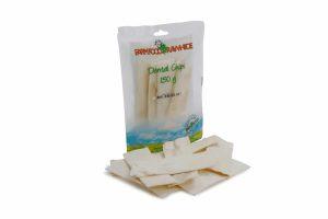 Het Farm Food Rawhide Dental Chips zijn stevige, harde chips die een fris gebit ondersteunen. Farm Food Rawhide is 100 % natuurlijk, doordat er tijdens de productie geen schadelijke stoffen aan te pas komen.