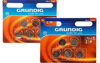 De Grundig batterij 3V is verkrijgbaar in twee varianten, namelijk in CR2016 en CR2032. De CR2032 is onder andere geschikt voor de PetSafe Ultrasonic Bark Control.