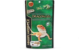 De Hikari Reptile DragonGel is een uitstekend alternatief voor levende insecten en verse groenten. Het is tevens een wetenschappelijke geformuleerd en uniek uitgebalanceerde pasta.