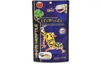De Hikari Reptile LeopaGel is een uitstekend alternatief voor levende insecten zonder te hoeven mengen. Het is tevens een wetenschappelijke geformuleerd en uniek uitgebalanceerde pasta.
