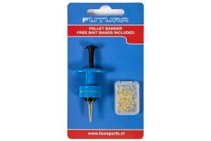 De Lion Sports Futura Pellet Bander is een handige tool waarmee je makkelijk elastiekjes kunt spreiden, om zo een stukje aas zoals pellets plaatsen. De tool wordt tevens geleverd inclusief baitbands.