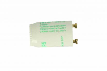 De Vliegenlamp Starter los S2/FS22 is te gebruiken bij de meest voorkomende TL-vliegenlampen. Het is raadzaam om zowel de starter als de vliegenlamp jaarlijks te vervangen.