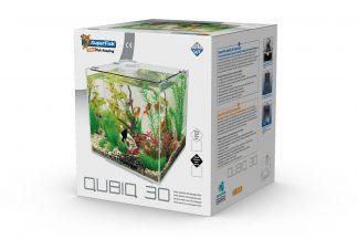 Het Superfish QubiQ 30 Aquarium is hèt alternatief voor een goudviskom. In een goudviskom ontbreekt een filter en watercirculatie waardoor de vissen in een vervuild en ongezond milieu leven. De QubiQ heeft een geïntegreerde filter wat zorgt voor helder en gezond water.