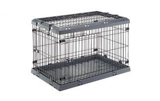 De Ferplast Superior hondenbench is zeer robuust en biedt veel mogelijkheden. Voorzien van twee stevige deuren met dubbel veiligheidsslot, volledig afneembare bovenzijde, kunststof bodem en degelijke kunststof kozijnen.