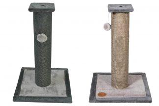 De Jack & Vanilla Abu krabpaal is voorzien van natuurlijk sisal en daardoor heerlijk voor katten om aan te krabben. Daarnaast zorgt het balletje voor extra speeluitdaging, zodat verveling niet aan de orde is. Katten krabben graag en met een fijne krabpaal voorkom jij dat jouw meubels het doelwit zijn!