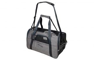 De Jack & Vanilla Travel plooibare draagtas is perfect voor op reis! De tas is eenvoudig op te vouwen en neemt daardoor weinig ruimte in beslag. Daarnaast heeft de tas voldoende ventilatiestukken.