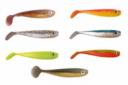De Predox Softbaits Willy Wonker shads zijn ideaal wanneer je vist op roofvissen zoals de snoek of meerval. De scoop verkrijgt al actie bij de geringste beweging met de hengeltop en de krachtige flankende actie is absoluut onweerstaanbaar voor de vissen.