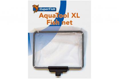 Het Superfish Aquatool XL visnet is een handige accessoire voor de Aquatool XL. Het schepnetje is tevens eenvoudig te monteren aan de aquatool, waarna je eenvoudig vuil kunt verwijderen uit het water.