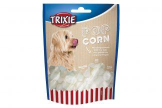Door Trixie Hondenpopcorn met leversmaakwordt het een echt feestje! Super leuk wanneer jouw hond jarig is of wanneer je samen een 'luie zondag' hebt. Door de leversmaak zijn honden er gek op en daarnaast bevat het weinig calorieën. Ideaal om te geven als lekker tussendoortje.