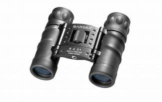 De Barska Style 8x21 verrekijker heeft een blauwe lens en is ideaal voor reizen of concerten, doordat hij zo compact is. Je kan tot maar liefst 8 keer vergroten en hebt close focus tot 5 meter.