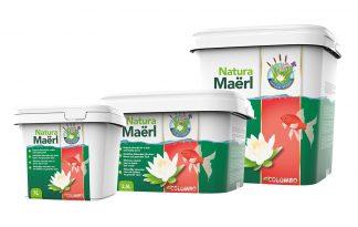 Het Colombo Natura Maërl is een natuurlijke mineralen voor een heldere en gezonde vijver. Het zijn gemakkelijk toe te dienen korrels van duurzaam gewonnen zeewierkalk. Maërl heeft 2 belangrijk eigenschappen. Het stabiliseert de hardheid van het vijverwater en daarmee de pH.