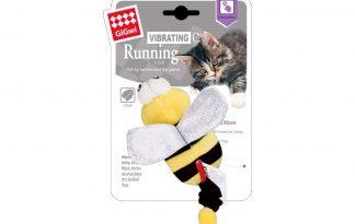 Het GiGwi Running Bee kattenspeeltje maakt er een echt jaagspelletje van voor jouw kat. Door de trillingen beweegt de bij over de vloer en wort het jachtinstinct van jouw kat gestimuleerd. Het speeltje is voorzien van kattenkruid, waardoor katten er erg gek op zijn.