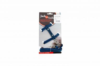 De Jack & Vanilla kattentuig met looplijn zorgt ervoor dat jouw huisdier er altijd stijlvol bijloopt. Zowel het tuig als de looplijn zijn gemaakt van gevet leder en verkrijgbaar in meerdere kleuren. Daarnaast is het geheel afgewerkt met een stiksel, waardoor het geheel er stijlvol uitziet.